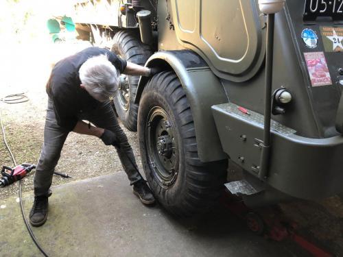 Pechservice Truckbanden Legervoertuig 05