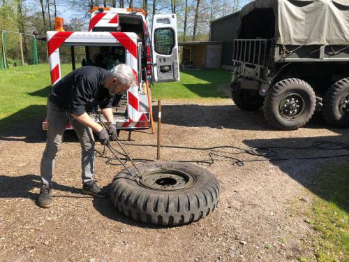 Pechservice Truckbanden Legervoertuig 09